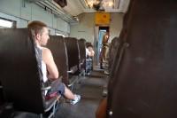 Vlak z Colombo do Galle