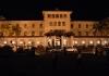 Galle Face hotel - noční pohled na hotel