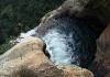 Poslední rovinka vodopádu, pak už 170 m dolů