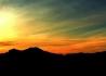 Kýčovitý východ slunce