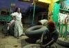 Oprava pneumatiky v Embilipitiya