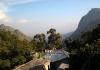 Výhled z balkónu z Tea Garden Holiday Inn