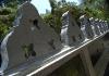 Zeď chrámu Dowa