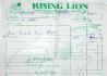 Účet z Rising Lion